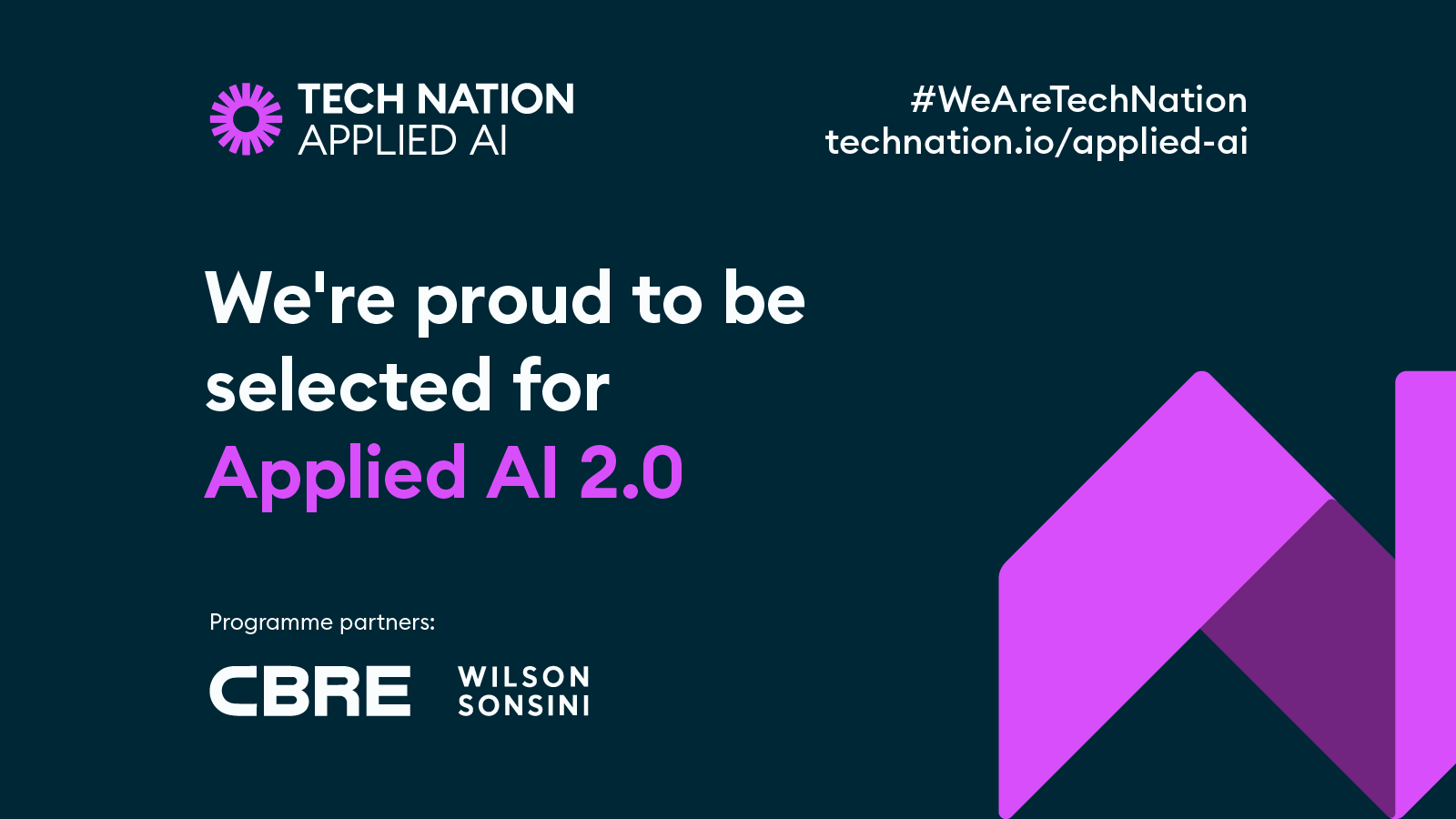 SATAVIA joins Tech Nation's Applied AI 2.0